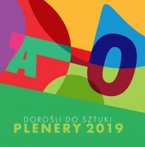 okładka Dorośli dosztuki Plenery 2019
