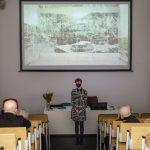 Natalia Ciak laureatką nagrody im.prof.Karola Stryjeńskiego. Uroczystośc odbyła się 22 kwietnia 2021 roku. Autor zdjęcia: Maciej Welk